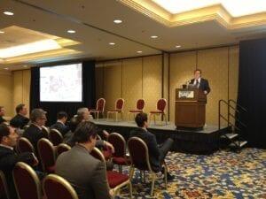 Gerry Moran addresses SAP's FKOM 2013 attendees on social selling strategies