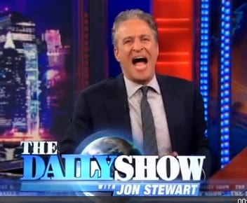 Jon-Stewart-shouts-over-The-Daily-Show-logo