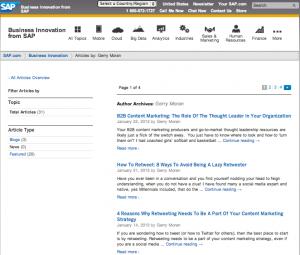 MarkethingThink.com syndication on blogs.sap.com/innovation