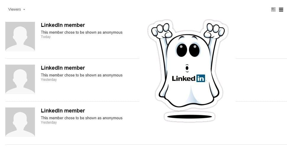 LinkedIn Ghost | MarketingThink.com | @GerryMoran