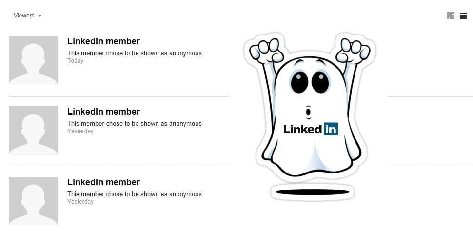 LinkedIn Ghost | MarketingThink.com | @GerryMoran