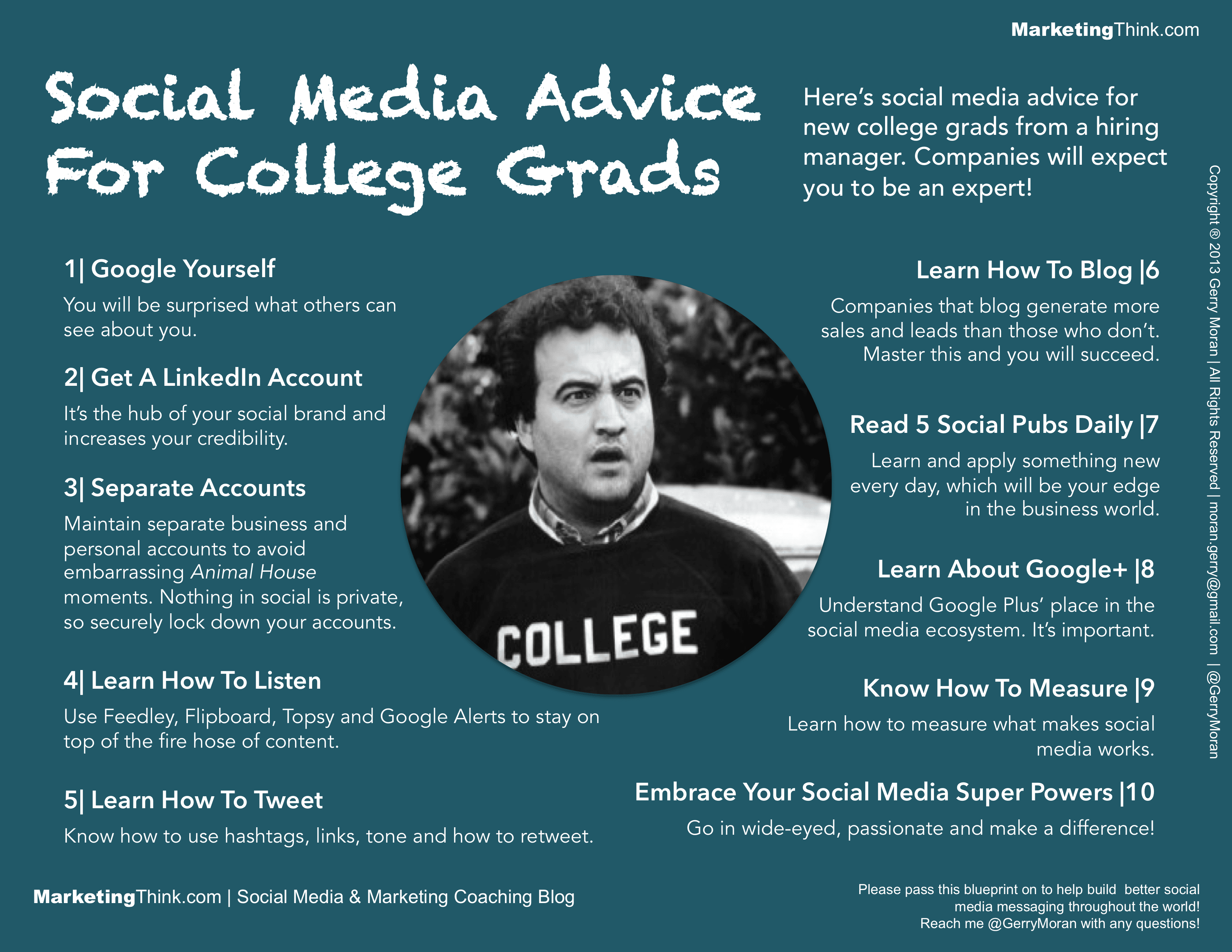Social Media Advice For College Grads