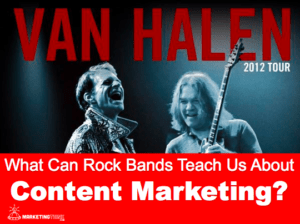 Rock Bands & Content Marketing