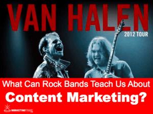 Rock Bands & Content Marketing