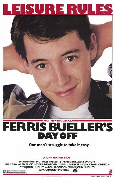 Even Ferris Bueller Takes A Day Off