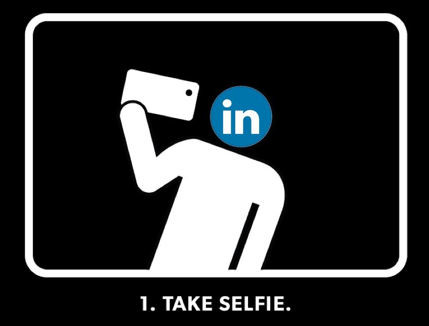 LinkedIn Profile Selfie