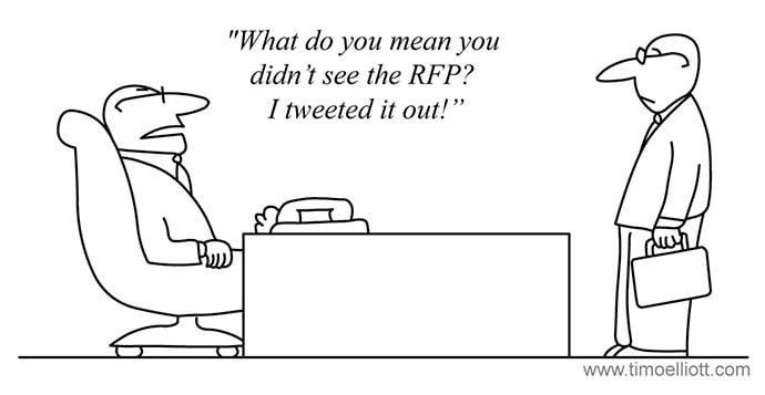 Tweet Our RFP | marketingthink.com | @GerryMoran