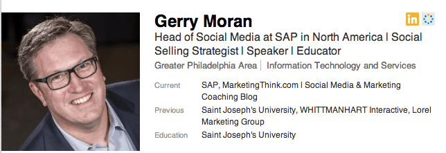 Gerry Moran on LinkedIn