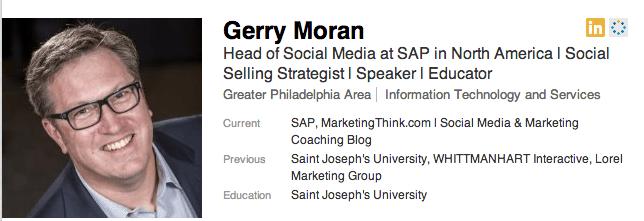 Gerry Moran on LinkedIn