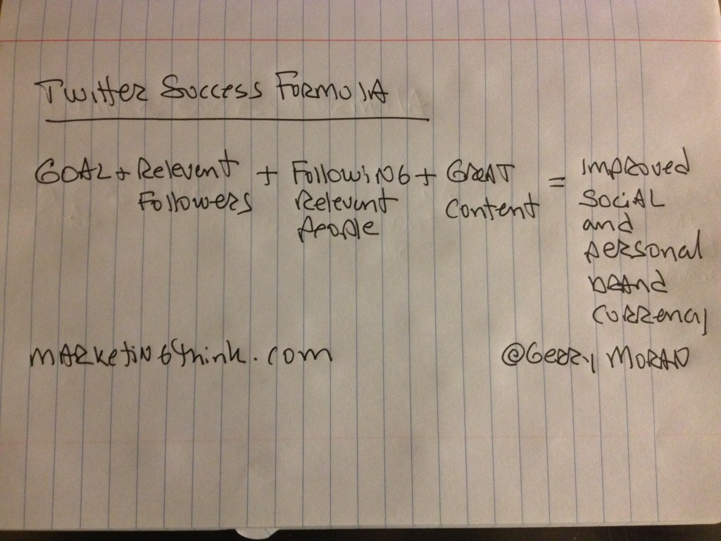 Twitter Success Formula