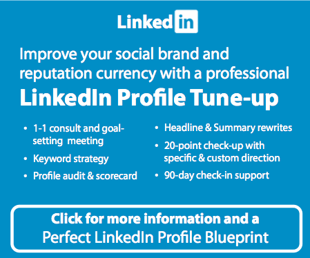 LinkedIn Profile Tune-up By Gerry Moran