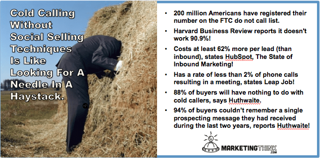 Cold Calling A Needle In A Haystack | Social Selling