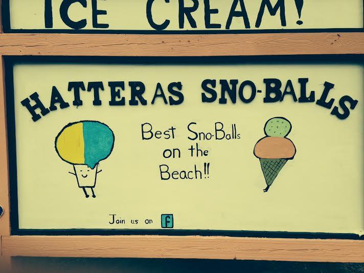 Hatteras Sno-Balls