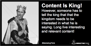 Content Is King | MarketingThink.com