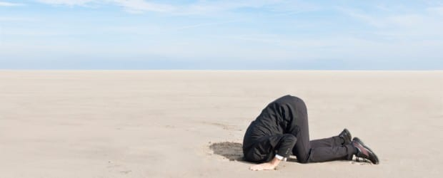 Head in the sand with your personal brand?