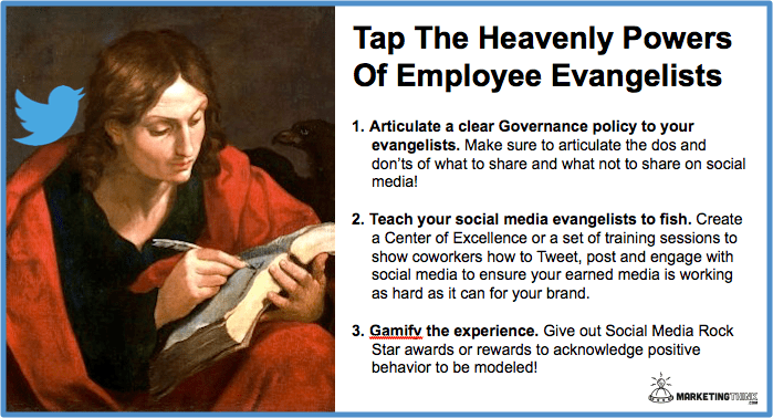 mployee Evangelists | MarketingThink.com | @GerryMoran