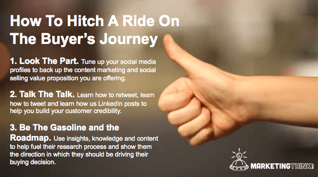 Hitch A Ride | MarketingThink.com | @GerryMoran