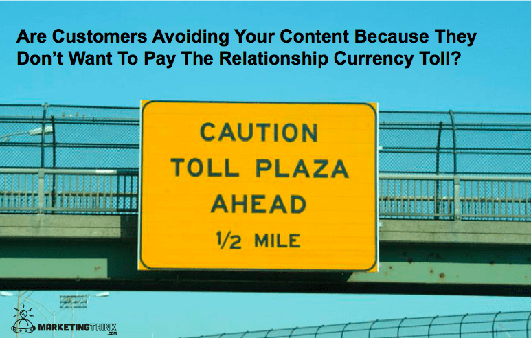 Relationship Currency | MarketingThink.com | @GerryMoran