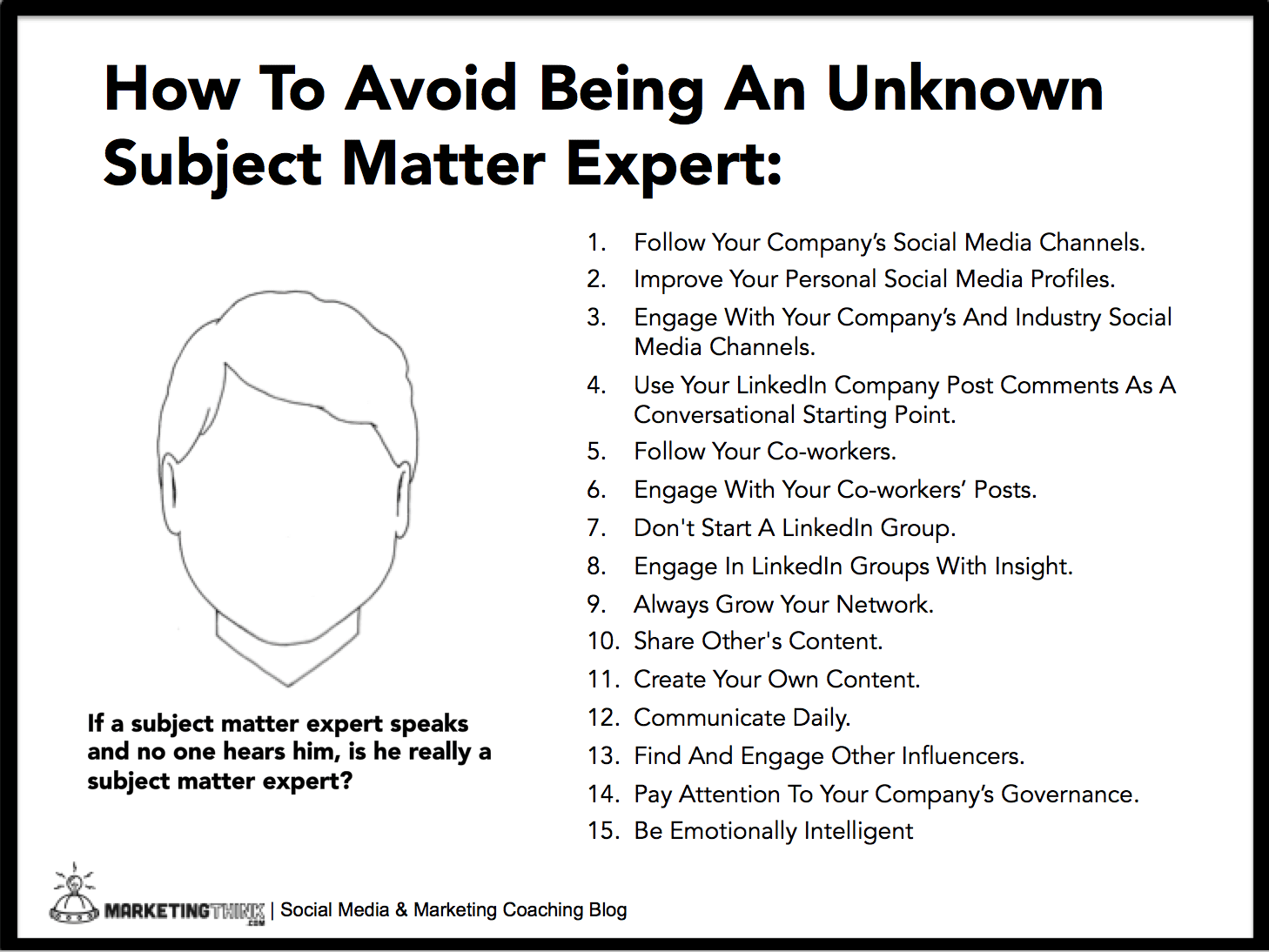 How To Be A Subject Matter Expert