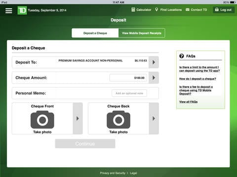td-mobile-deposit-ipad