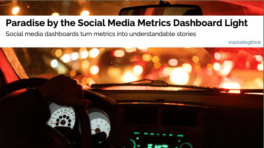 social media metrics dashboard