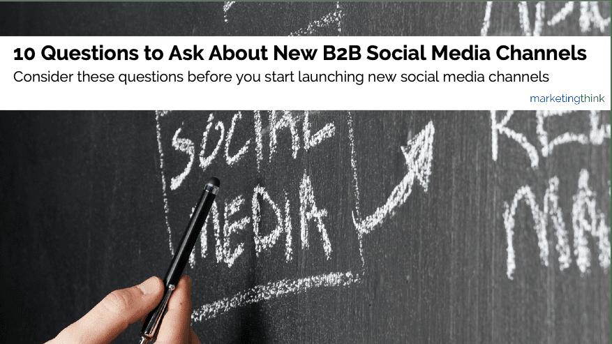 new-b2b-social-media-channels