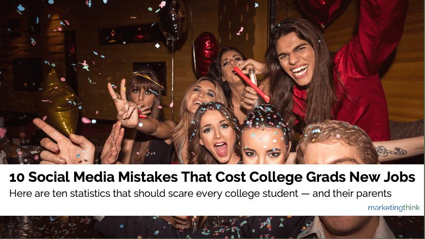 social media mistaks