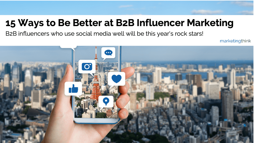 b2b social media influencer marketing