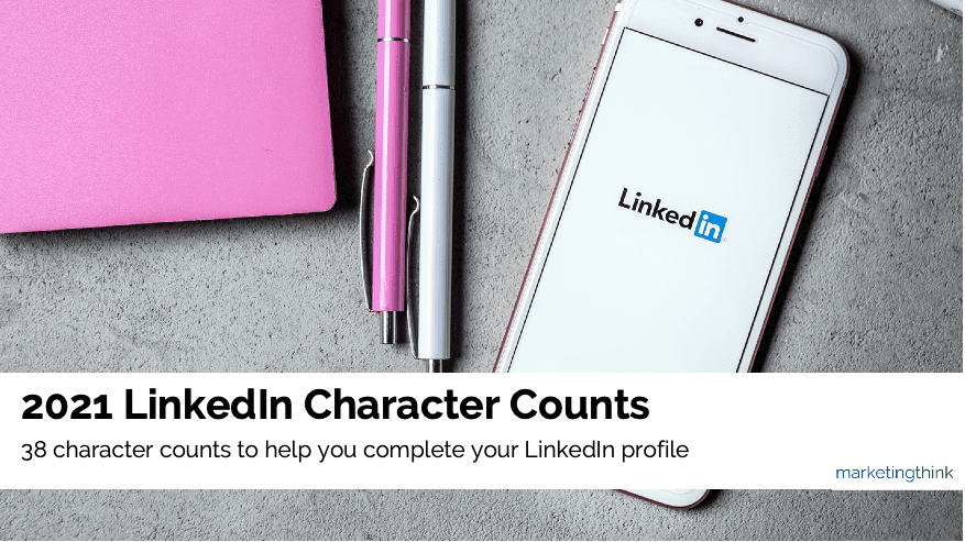 linkedin character counts