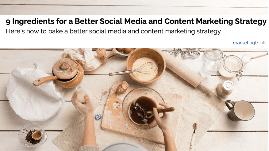 better content marketing social media strategy