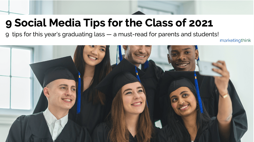 social media tips for college grads