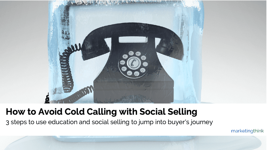 avoid cold calling with social selling