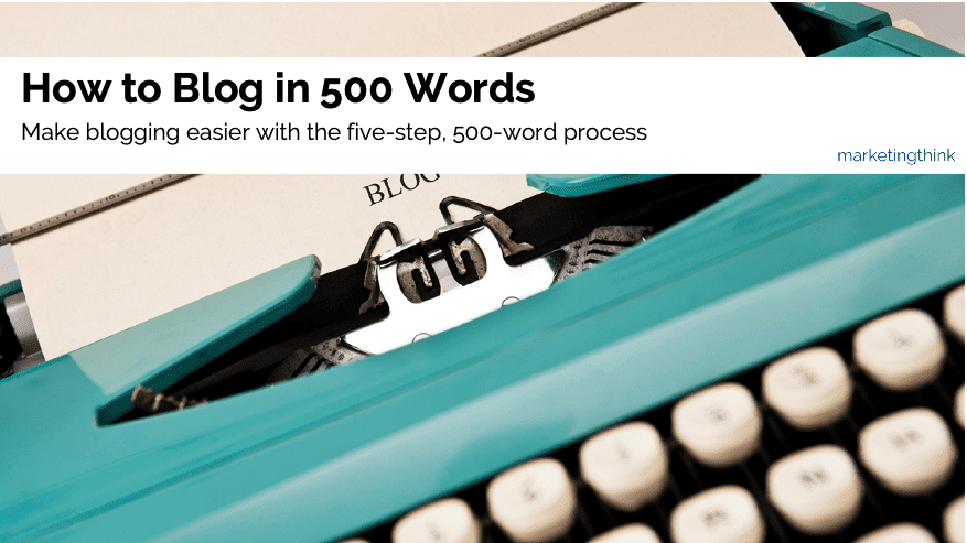 how-to-blog-in-500-words